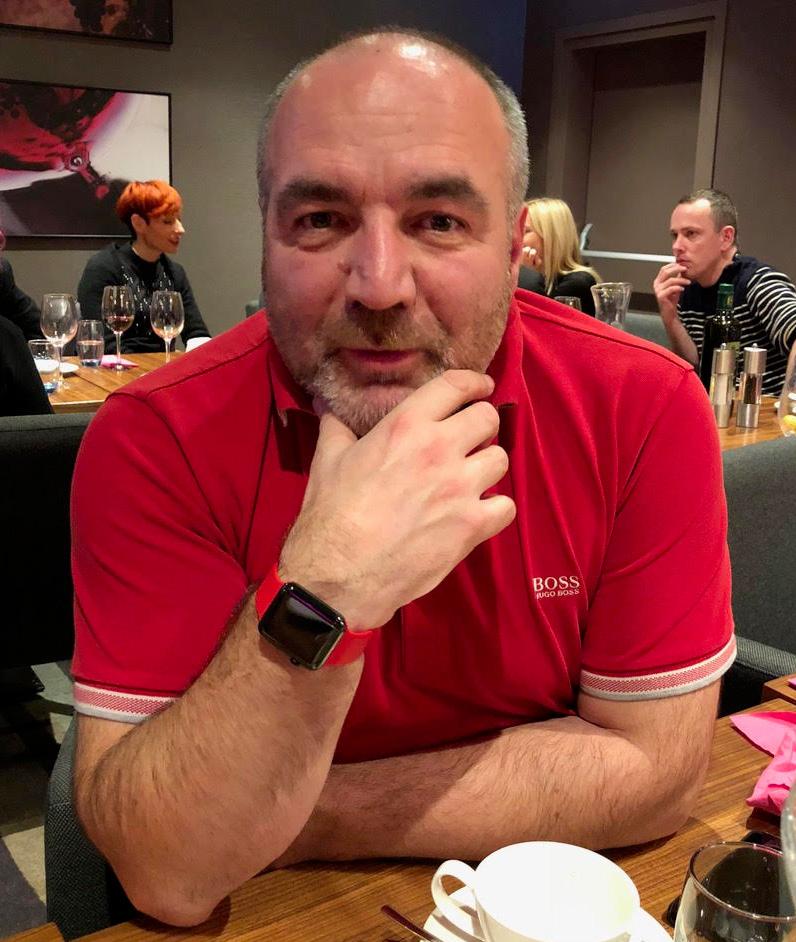 Serge Bosca, vice-président UFE Pologne