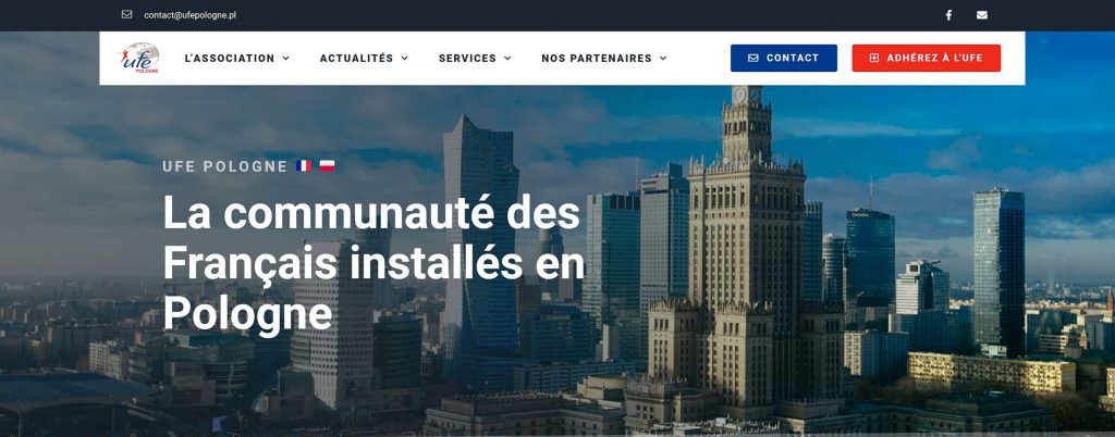 Site UFE Pologne