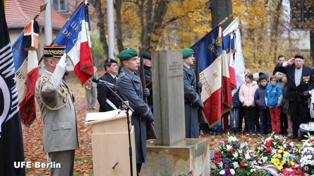 Français et Allemands commémorent ensemble à Berlin les 8 mai, 14 juillet, 11 novembre - Photo © JFD