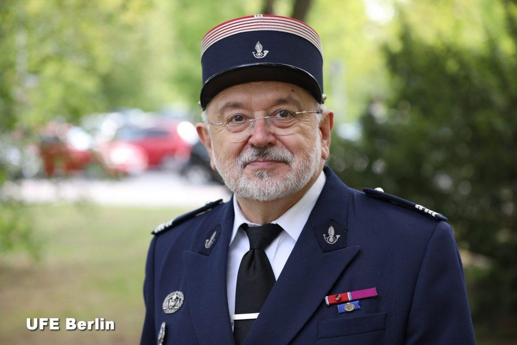 Le colonel des Douanes Yvan Chazalviel à Berlin - Photo © Joël-François Dumont