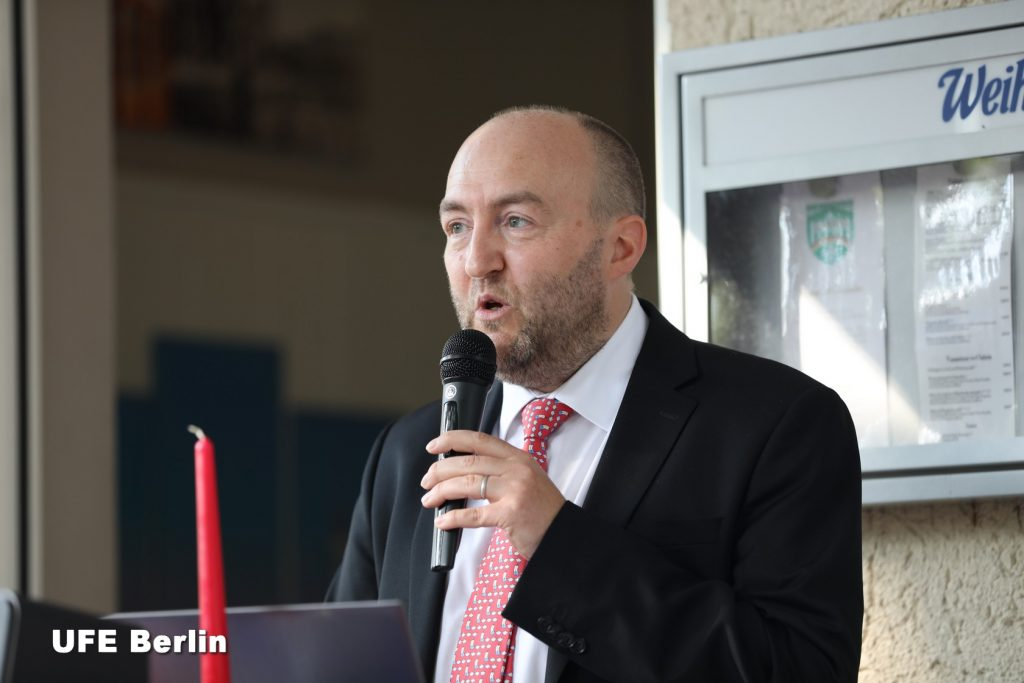 Xavier Doucet, président de l'UFE Berlin - Photo © Joël-François Dumont