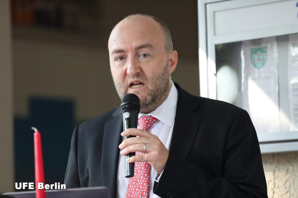Xavier Doucet - Vorsitzender UFE Berlin - Foto © JFD