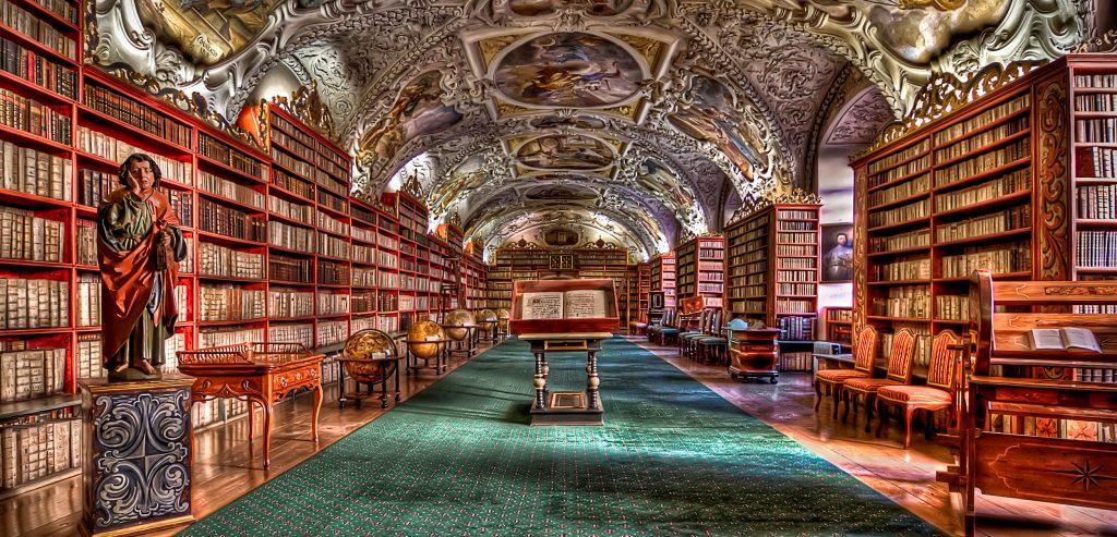 Bibliothèque de Prague - Photo BS - Izoca