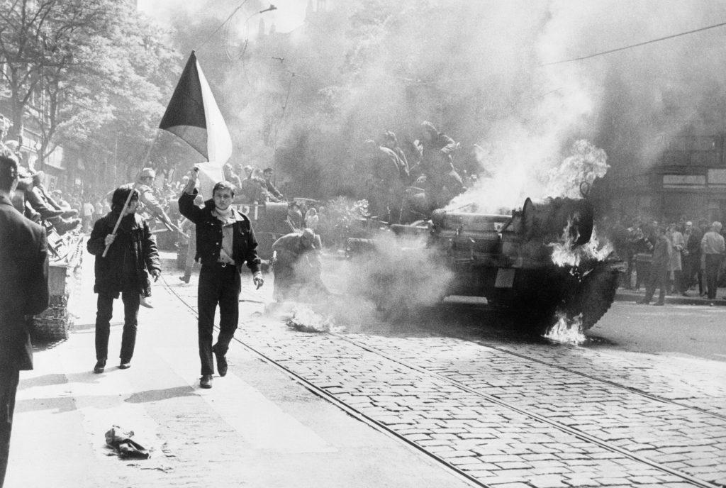 Le « Printemps de Prague » le 21 août 1968... La « normalisation » suivra ... - Photo CIA