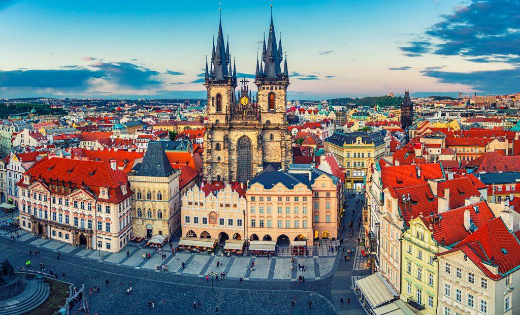 Prague : Centre ville historique - Photo BS -Aliaksandr Antanovich
